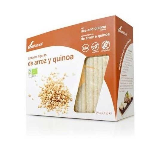 Tostadas de Arroz y Quinoa