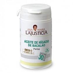 Aceite de Hígado de Bacalao Ana Maria LaJusticia - 90 Perlas