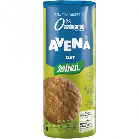Galletas de Avena Digestive 190g Santiveri