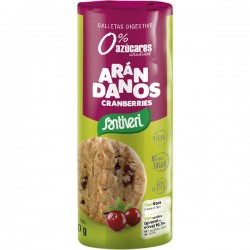 Galletas de Arándanos Digestive 190g Santiveri