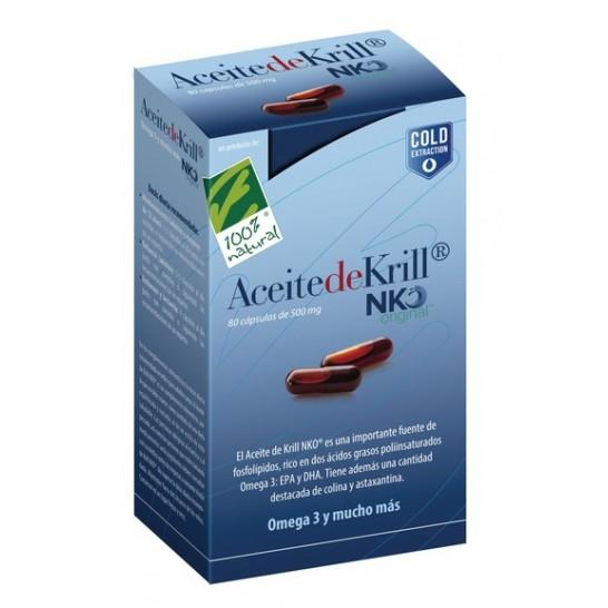 Aceite de Krill 120 cápsulas NKO