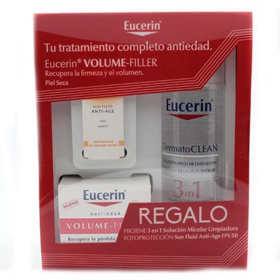 Eucerin Volume-Filler Crema 50ml + Solución Micelar 200 ml