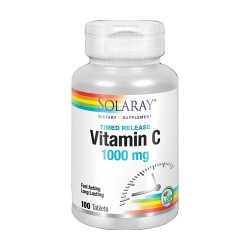 Solaray Vitamin C 1000mg 100 cápsulas