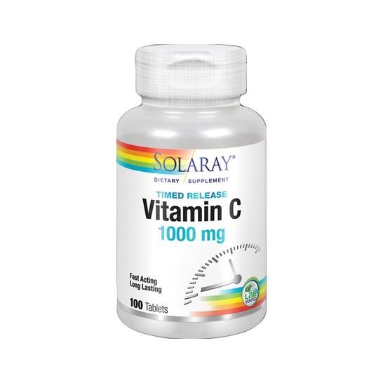 Solaray Vitamin C 1000mg 100 cápsulas