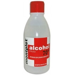 Alcohol 70º 250ml Montplet