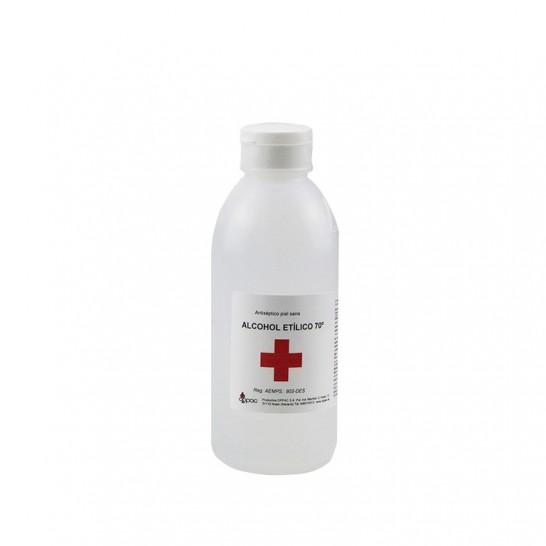 Alcohol Etílico 70º Benzalconio 250ml