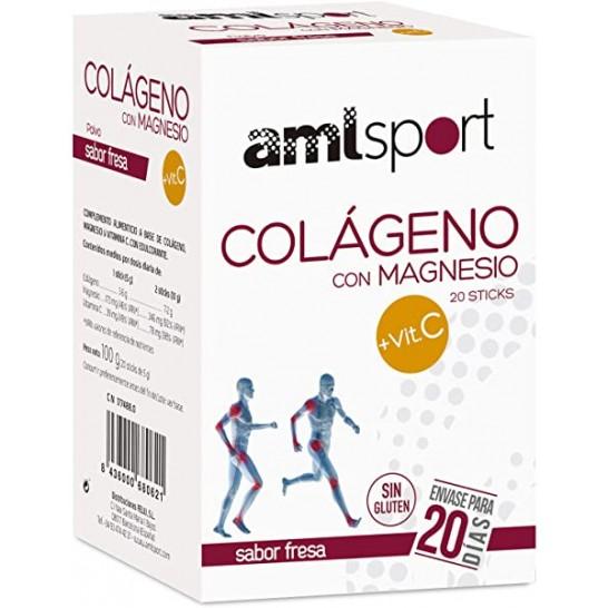 Colágeno con Magnesio + VIT C Sport 20 Sticks LaJusticia