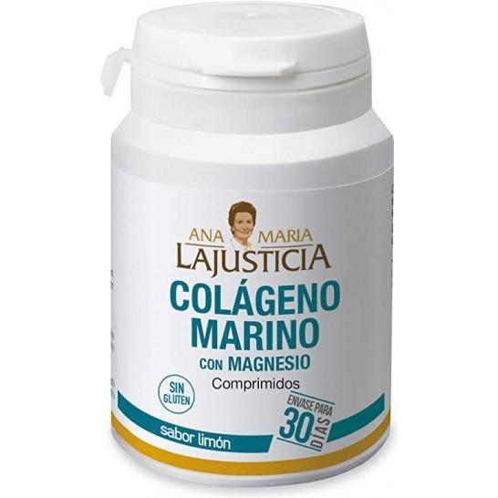 Colágeno Marino con Magnesio 180 comp Limón LaJusticia