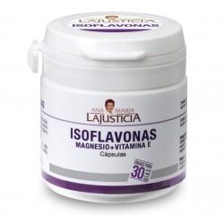 Isoflavonas con Magnesio + VIT E 30 Cápsulas LaJusticia