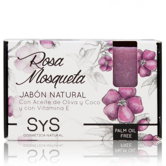Jabón Natural Rosa de Mosqueta 100g Premium