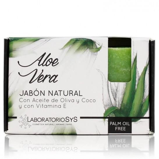 Jabón Natural Aloe Vera 100g Premium