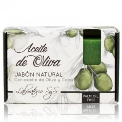 Jabón Natural Aceite de Oliva 100g Premium SyS