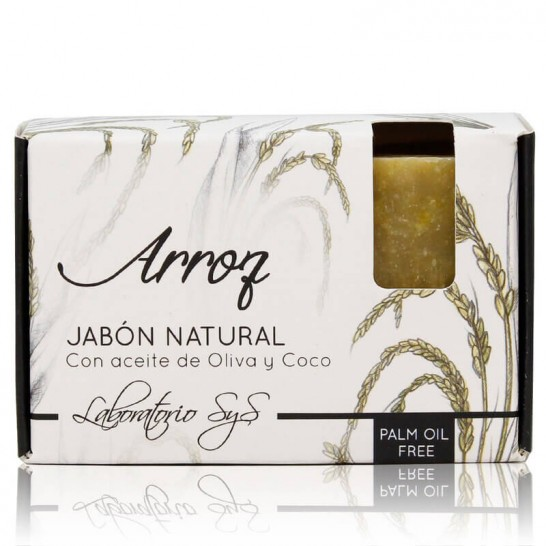 Jabón Natural Arroz 100g Premium SyS