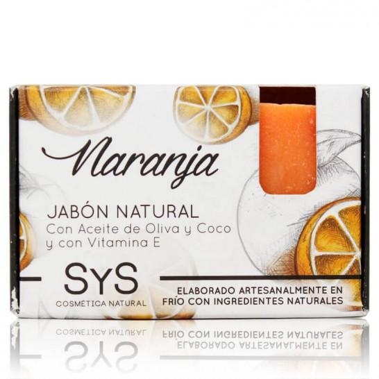 Jabón Natural Naranja 100g Premium SyS