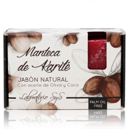 Jabón Natural Manteca de Karité 100g Premium SyS