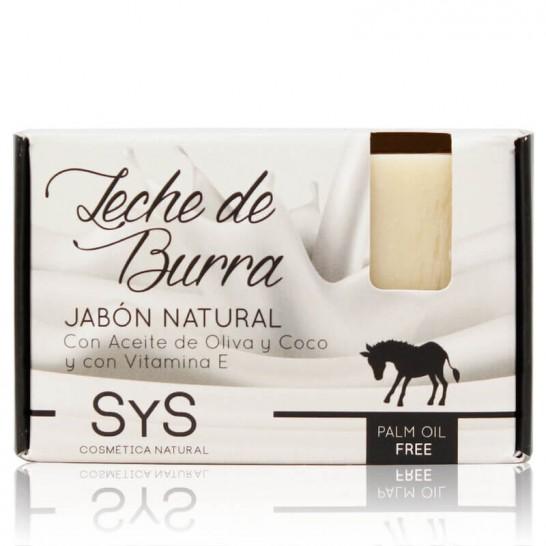 Jabón Natural Leche de Burra 100g Premium SyS