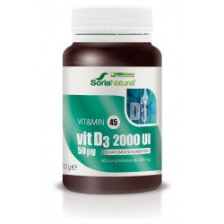 Vitamina D3 2000UI 60 comp....