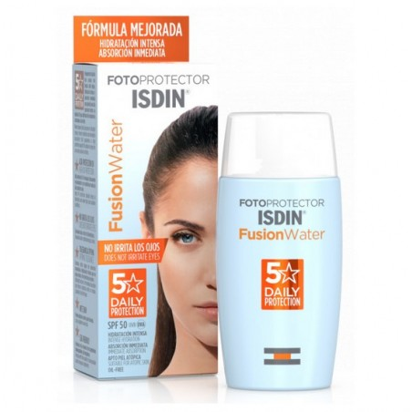 Isdin Fusion Water SPF50 Protector Solar 50ml