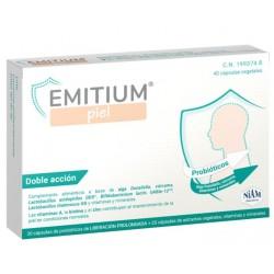 Emitium Piel 20 cápsulas