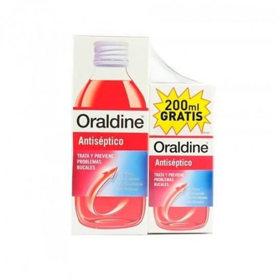 Oraldine Colutorio Antiséptico 500 ml + 200 ml