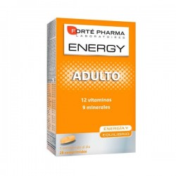 Forté Pharma ENERGY Multivit Adulto 28 Comprimidos