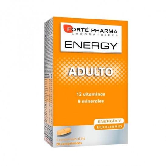 Forté Pharma ENERGY Multivit Adulto 28 Comprimidos