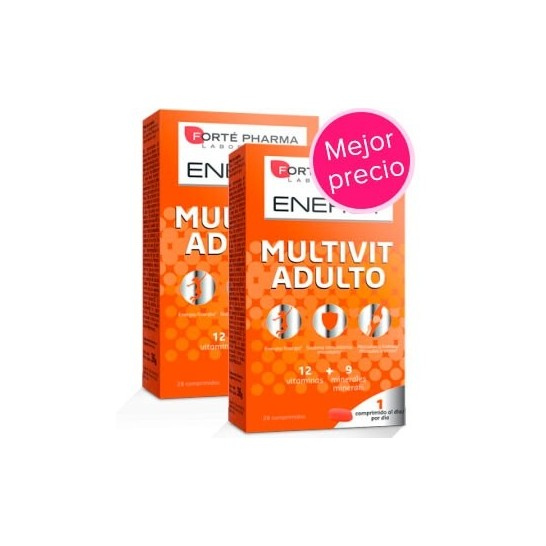 ENERGY Multivit Adulto 28 Comprimidos - Duplo
