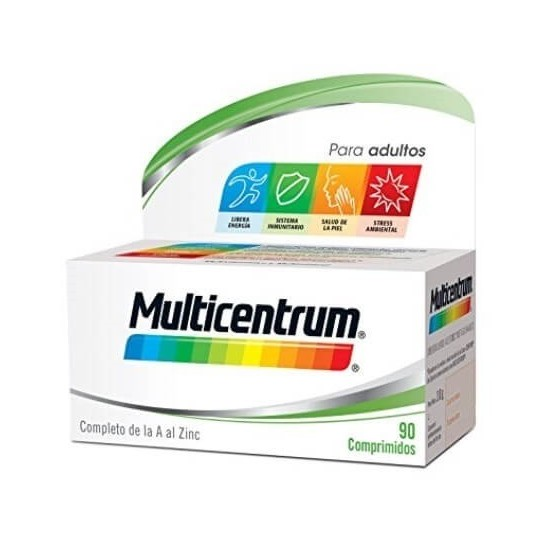 Multicentrum Vitaminas 90 comprimidos