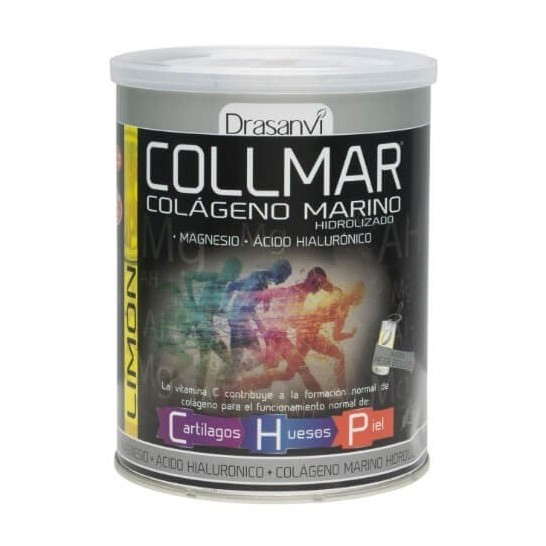 Collmar Colágeno Marino con Magnesio Limón 300g