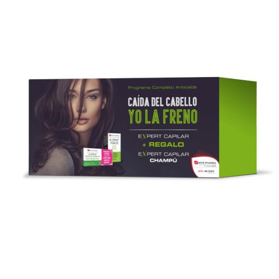 Expert Capilar Cofre 84 Comp + Champú - Forte Pharma