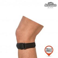 Banda Patelar Artroben Black Talla única