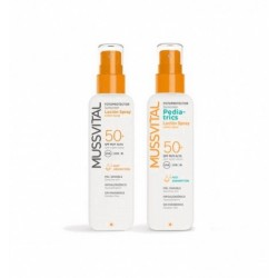 Pack Fotoprotector Loción Spray SPF50+ 200 ml + Pediatrics SPF50+ 200 ml