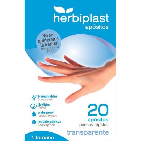 Tiritas Herbiplast Transparentes 20 ud